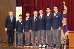 HP用2019留学生終業式